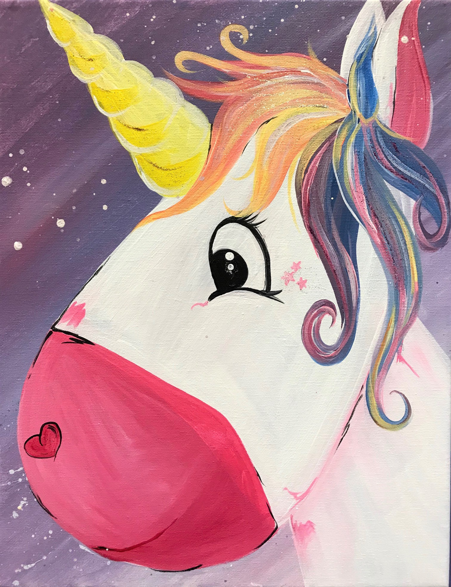Unicorn Kids Painting Kit