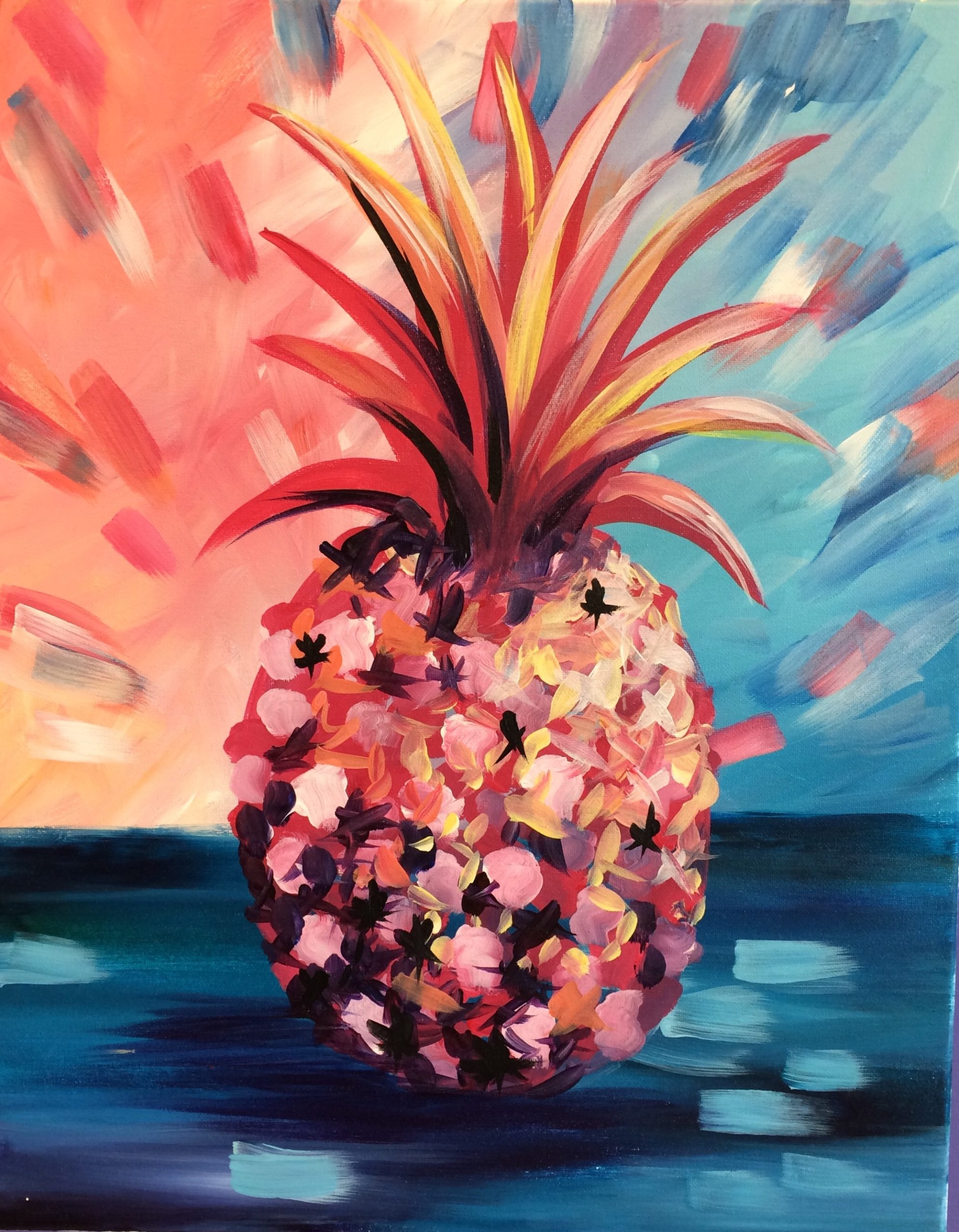 Pineapple Painting Kit