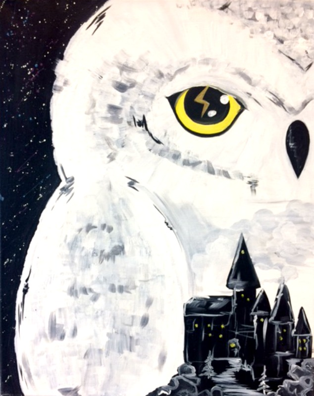 Harry Potter- Hedwig Painting Kit