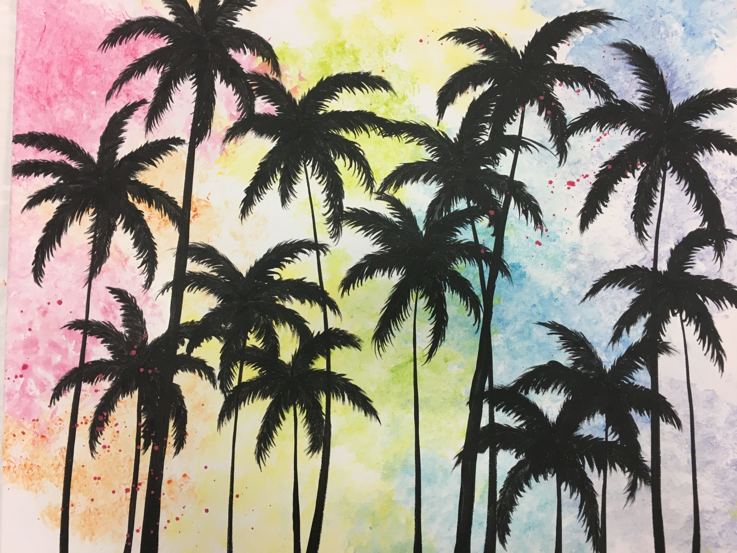 L.A Palms Adult Painting Kit
