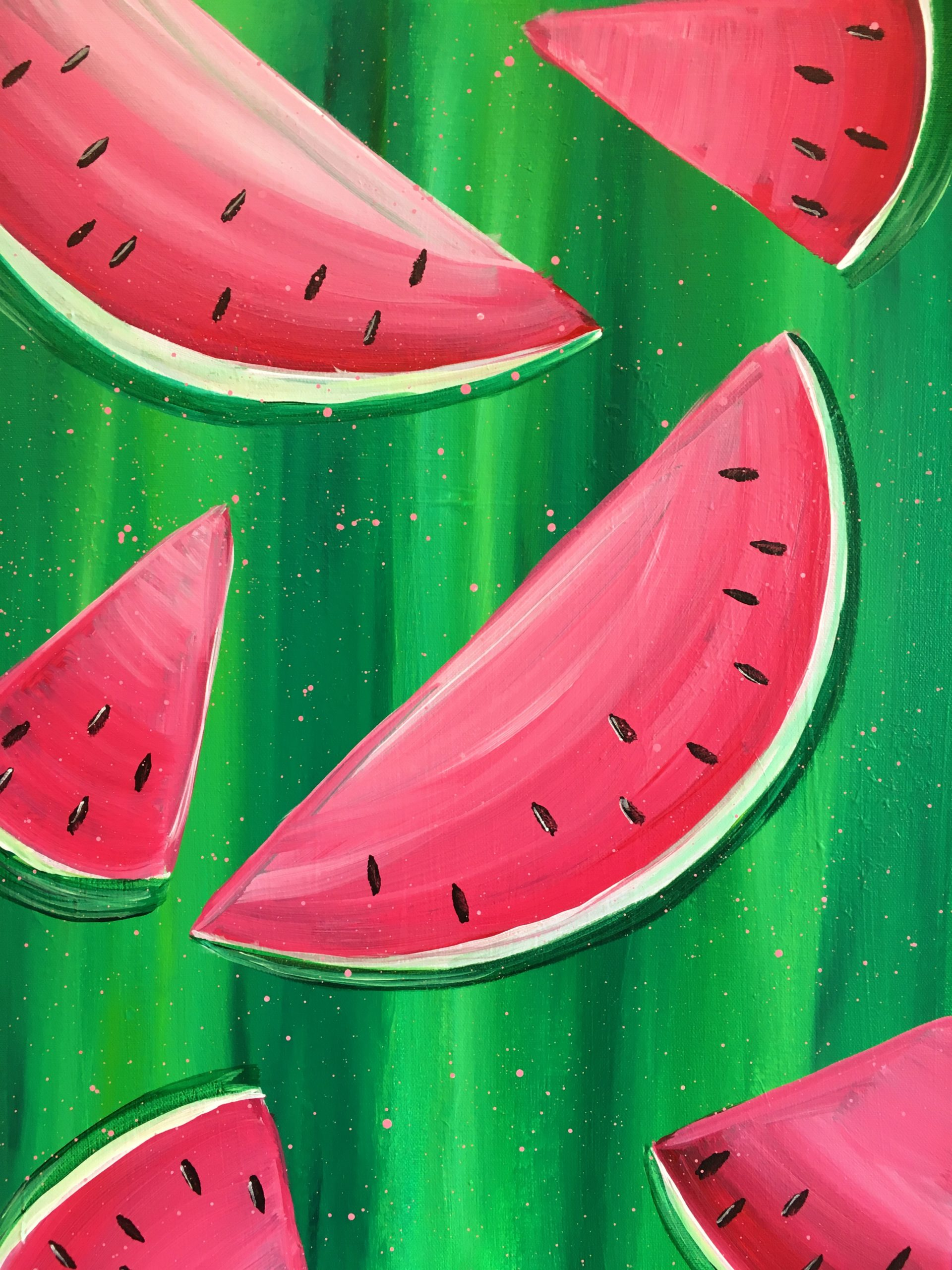 Watermelons Painting Kit
