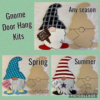 Summer Gnome Door Hanger Painting Kit