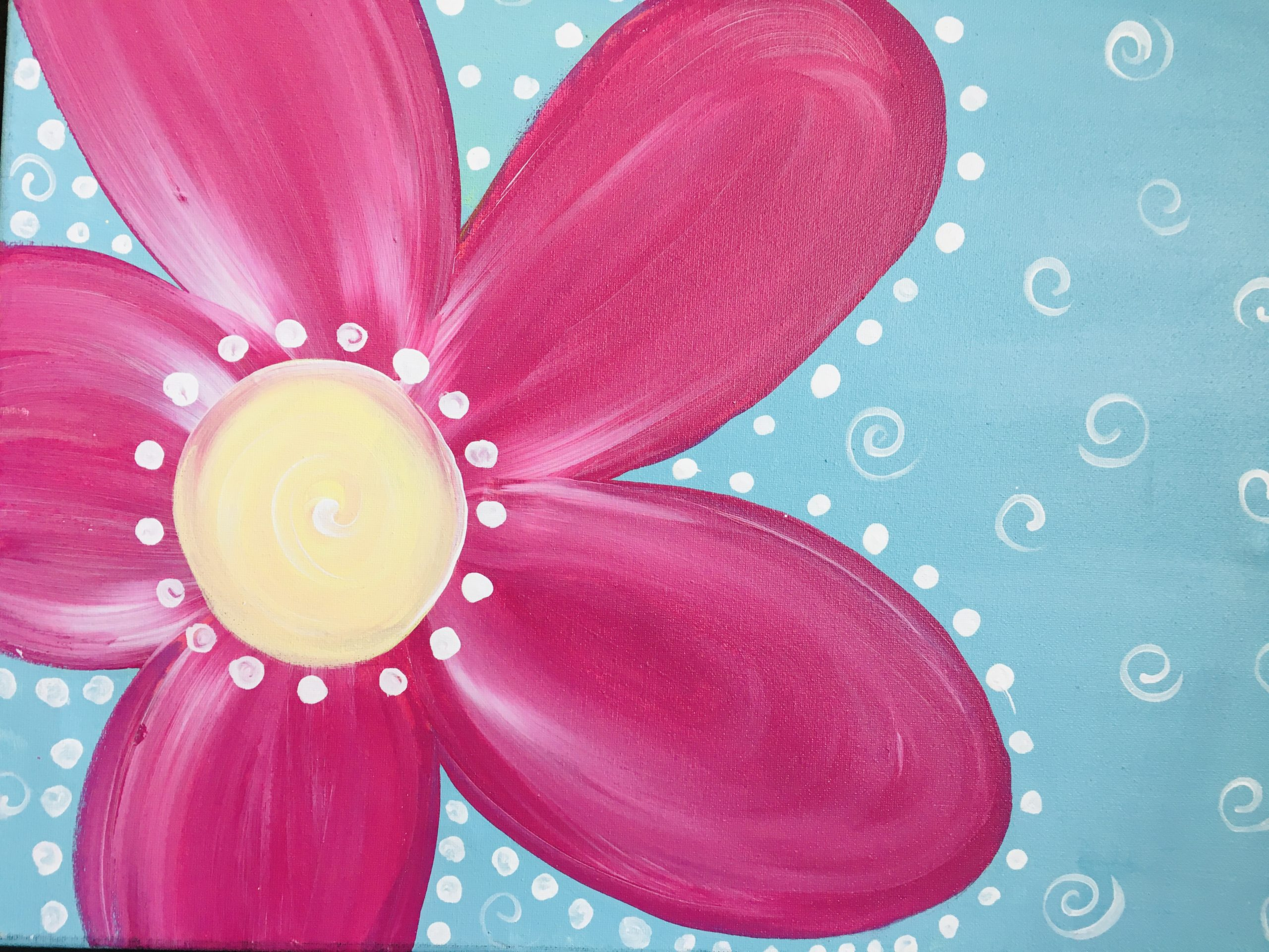 Flirty Flower Kids Painting Kit