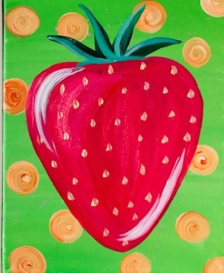 Strawberry Kids Painting Kit