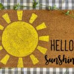 Hello Sunshine 18x30